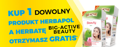 Herbata Big-Active Beauty gratis